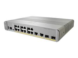 Cisco WS-C3560CX-12PC-S Main Image from Right-angle