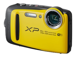 Fujifilm FinePix XP120 Camera, 16.4MP, 5x Zoom, Yellow, 16544125, 33763080, Cameras - Digital