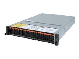 Gigabyte Tech Barebones, R282-Z92 Rev. 100 2U RM (2x)CPU slots 32xDIMMs 26x2.5 HS bays 2xGbE 2x1600W NoOS, R282-Z92, 37598801, Barebones Systems