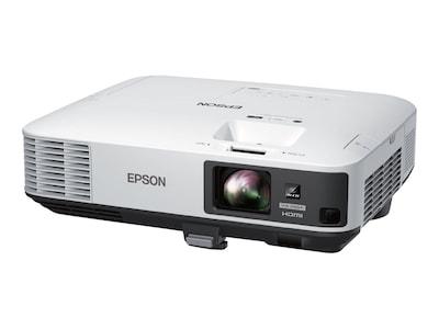 Epson PowerLite 2250U Wireless Full HD WUXGA 3LCD Projector, 5000 Lumens, White, V11H871020, 33566211, Projectors
