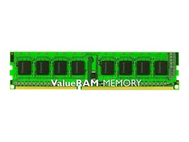 Kingston 8GB PC3-10600 240-pin DDR3 SDRAM UDIMM, KVR1333D3N9/8G, 13531599, Memory