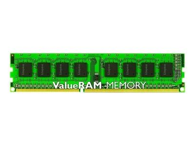 Kingston 4GB PC3-12800 240-pin DDR3 SDRAM DIMM for Select Models, KVR16N11S8/4, 14442598, Memory