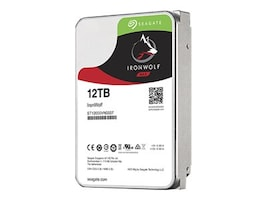 Seagate 12TB IronWolf SATA 6Gb s 3.5 Internal Hard Drive, ST12000VN0007, 34606861, Hard Drives - Internal
