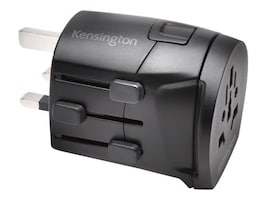 Kensington International Travel Adapter, 3-Prong, K38237WW, 34188929, AC Power Adapters (external)