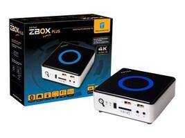 Zotac Barebones, ZBOX Nano SFF Core i3-4010U, ZBOXNANO-ID67-PLUS-U, 16341678, Barebones Systems