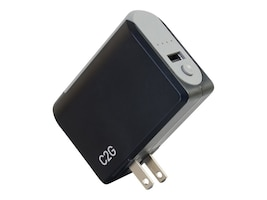 C2G 1-Port USB Wall Charger, AC to USB Adapter Power Bank, 5V 1A Output, 20275, 35125137, AC Power Adapters (external)
