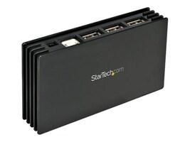 StarTech.com 7-Port Compact USB 2.0 Hub, Black, ST7202USB, 7831923, USB & Firewire Hubs