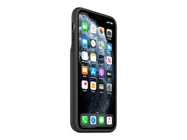 Apple iPhone 11 Pro Max Smart Battery Case w  Wireless Charging - Black, MWVP2LL/A, 38078647, Cellular/PCS Accessories - iPhone