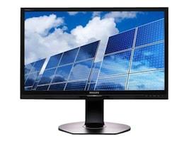 Philips 21.5 1B6QPYEB Full HD LED-LCD Monitor, Black, 221B6QPYEB, 32828478, Monitors