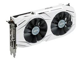 Asus GeForce GTX 1060 PCIe Graphics Card, 6GB GDDR5, DUALGTX10606G, 32424203, Graphics/Video Accelerators