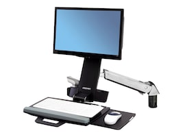 Ergotron StyleView Sit-Stand Combo Arm Mount, 45-266-026, 13324119, Cart & Wall Station Accessories