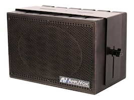 AmpliVox MITY-BOX 16-Channel Compact PA System with Wireless Mic & Amplified Speaker, SW1230, 15464043, Music Hardware