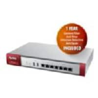 Zyxel USG110 UTM Firewall VPN Router w 1 Yr CF AV IDP AS w Free Access Point, USG110-K, 17644486, Network Routers