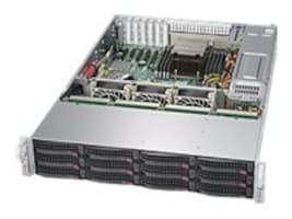 Supermicro Barebones, SuperServer 6028R 2U RM (2x)E5-2600 v3 Family Max.1TB DDR4 12x3.5 HS Bays 2x10Gb 2x920W, SSG-6028R-E1CR12L, 20138251, Barebones Systems
