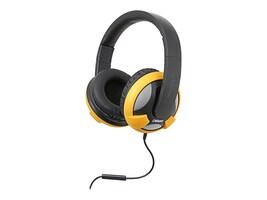 Syba OBLANC UFO Around Ear 2.0 Stereo Headphone w  Mic, OG-AUD63045, 32918254, Headsets (w/ microphone)