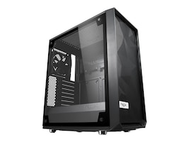 Fractal Design Chassis, Meshify C TG, FD-CA-MESH-C-BKO-TGL, 35175281, Cases - Systems/Servers