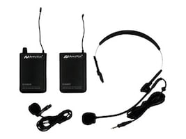 AmpliVox Full Kit 16-CH UHF Wireless Lapel, S1601, 15799628, Headsets (w/ microphone)