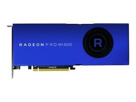 AMD Radeon Pro WX 8200 PCIe 3.0 x16 Graphics Card, 8GB HBM2, 100-505956, 36166088, Graphics/Video Accelerators