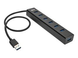 Tripp Lite SuperSpeed USB 3.0 7-Port Hub w  USB Charging, U360-007-AL, 33800611, USB & Firewire Hubs