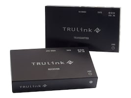 C2G TruLink HDMI over Cat5 Extender Box Transmitter to Box Receiver Kit, 29210, 16912750, Video Extenders & Splitters