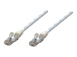Intellinet Cat5e 350MHz Patch Cable, White, 50ft, 320726, 15176981, Cables