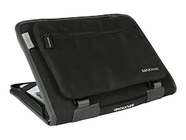 Max Cases MAX Work-In-Slim Case for 11 Notebook, Gray, MC-WNS-11-GRY, 35796791, Carrying Cases - Notebook