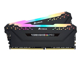 Corsair 32GB PC4-25600 288-pin DDR4 SDRAM DIMM Kit, CMW32GX4M2C3200C16, 36847879, Memory
