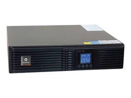 Vertiv Liebert GXT4 1000VA R T Online UPS 120V w  Rackmount Kit, GXT4-1000RT120, 18382001, Battery Backup/UPS