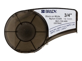 Brady 3 4 x 16' Clear Nylon Continuous Label Cartridge, M21-750-499, 11308166, Paper, Labels & Other Print Media