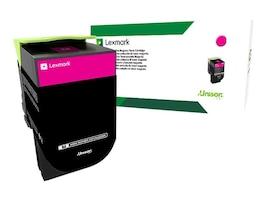 Lexmark 801HM Magenta High Yield Return Program Toner Cartridge, 80C1HM0, 14909531, Toner and Imaging Components - OEM