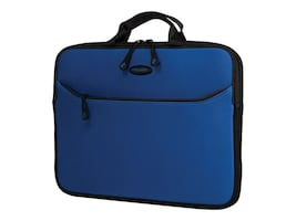 Mobile Edge 14 SlipSuit Sleeve, Royal Blue, MESS5-14, 35401171, Carrying Cases - Notebook
