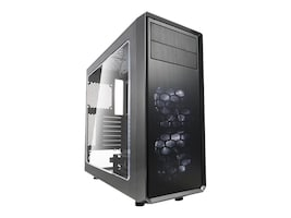 Fractal Design Chassis, Fractal Design Focus G Gray, FD-CA-FOCUS-GY-W, 34471548, Cases - Systems/Servers