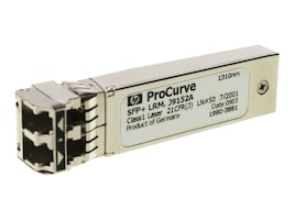 HPE X132 10GBase-LR SFP+ LC 1310nm 10km SMF Transceiver, J9151A, 9437305, Network Transceivers