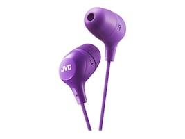 JVC Marshmallow Wired Earbuds - Violet, HAFX38V, 34046681, Headphones