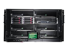 HPE BLc3000 Blade Enclosure 4xPower Supplies 6xFans 8xInsight Control Trial Licenses DVD Rail Kit, 696909-B21, 15422661, Cases - Systems/Servers