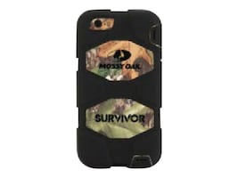 Griffin Survivor for iPhone 5 5S, Black, GB39887-2, 32546737, Carrying Cases - Phones/PDAs