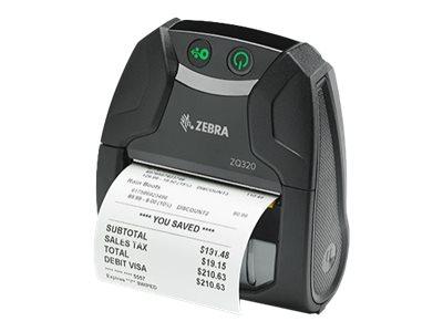 Zebra ZQ320 DT BT Outdoor Use Engloish Group 0 Printer