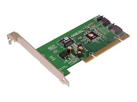 Siig Serial ATA PCI RAID 2-Channel RoHS, SC-SATR12-S4, 7083208, RAID Controllers