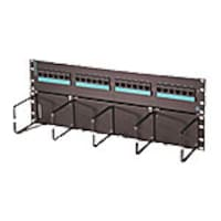 Ortronics Clarity 6 24-Port Cat6 Hinged Patch Panel, PSD66U24HM, 27868336, Patch Panels