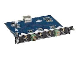 Black Box 4K Video Matrix Switch Input Card, HDMI, Audio, AVS-4I-HDM, 32893309, Switch Boxes - AV