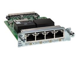 Cisco VWIC3-4MFT-T1/E1 Main Image from Left-angle