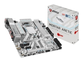 MSI Computer H270M MORTAR ARCTIC Main Image from Front