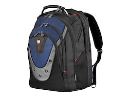 Wenger 17 Laptop Backpack, Blue Black, GA-7316-06F00, 9870811, Carrying Cases - Notebook