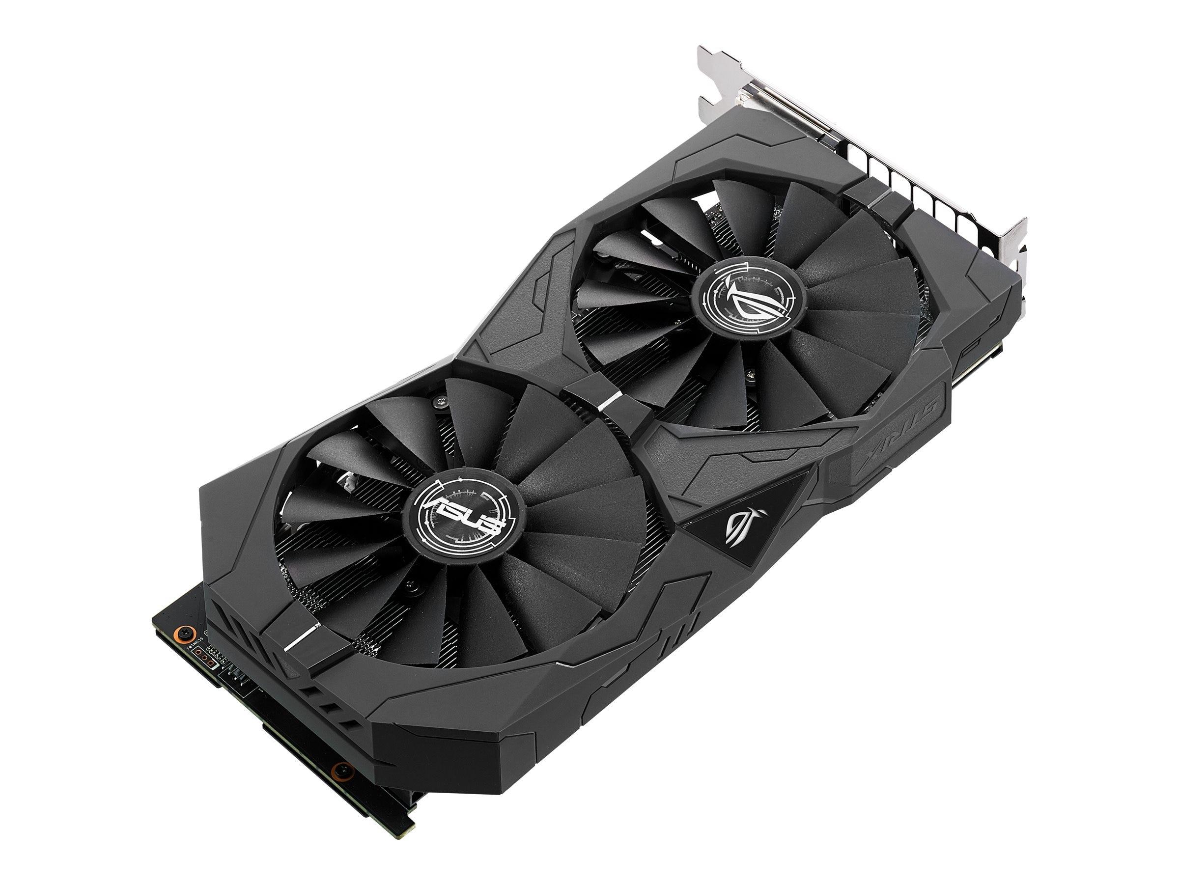 Asus NVIDIA GeForce GTX 1050 TI PCIe 3.0 Graphics Card, 4GB GDDR5, STRIX-GTX1050TI-O4G-GAMING, 33951110, Graphics/Video Accelerators