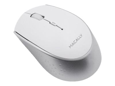 Macally Rechargeable Bluetooth Optical Mouse for Mac PC, White, BTEZMOUSEBAT, 36658365, Mice & Cursor Control Devices