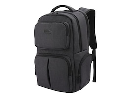 Eco Style DELUXE BACKPACK CHKPT FRIENDLY CASEFITS LAPTOPS UP TO 15.6IN, EDLX-BP15-CF, 36131951, Carrying Cases - Other
