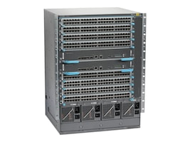 Juniper Networks Switch Chassis EX6210 96-Port POE+ System 10-Slot Chassis  w  Passive Backplane, EX6210-S64-96P-A50, 17271739, Network Switches