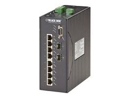 Black Box LEH1008A-2SFP Main Image from Right-angle