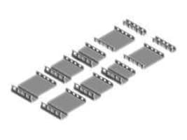 Innovation First Rack Mount Adapters for Dell PowerEdge 2U Servers, 2UKIT-101, 5387195, Rack Mount Accessories