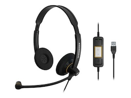 Sennheiser SC 60 Binaural USB ML Headset, 504547, 16161335, Headsets (w/ microphone)